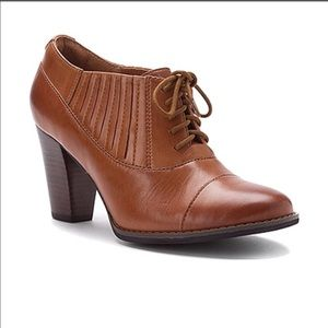Tan Merlin British Leather Ankle Boots
